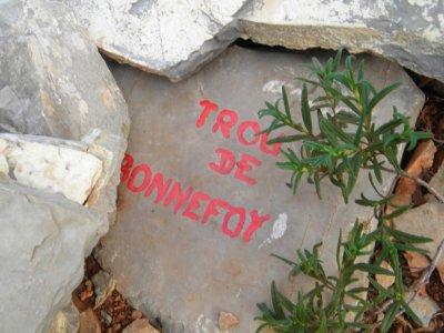le trou de Bonnefoy