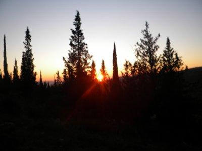 couché de soleil sur Balaruc