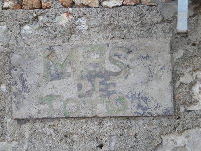 """Souvenir """"Mas de Toto"""""""