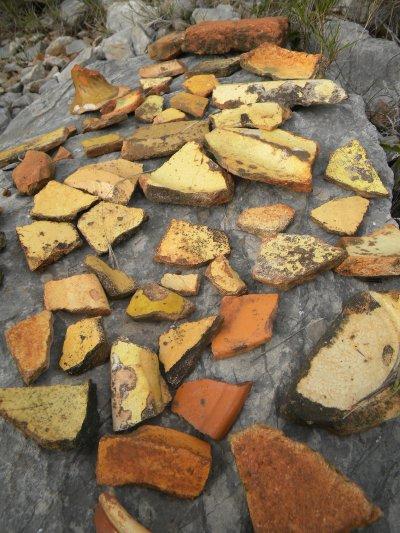 poteries trouvées aux 3 Capitelles / Frontignan