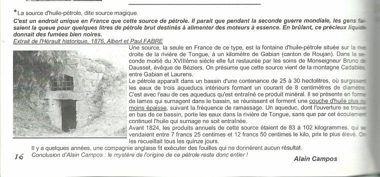 Fontaine Miraculeuse ...