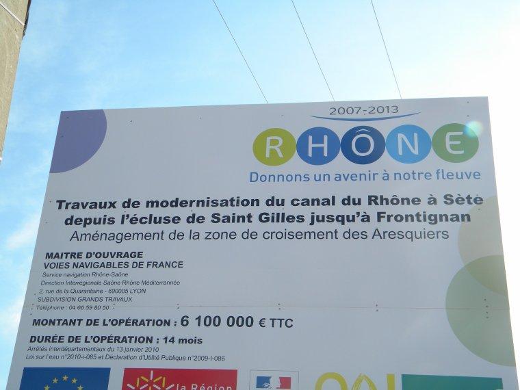 Entre Pierres et Canal du Rhone