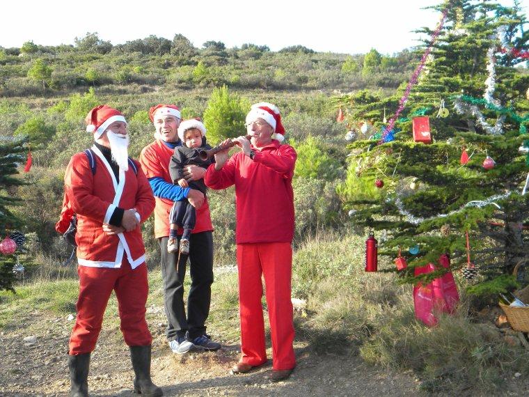 l'equipe capitelle fete Noel en Garrigue ...