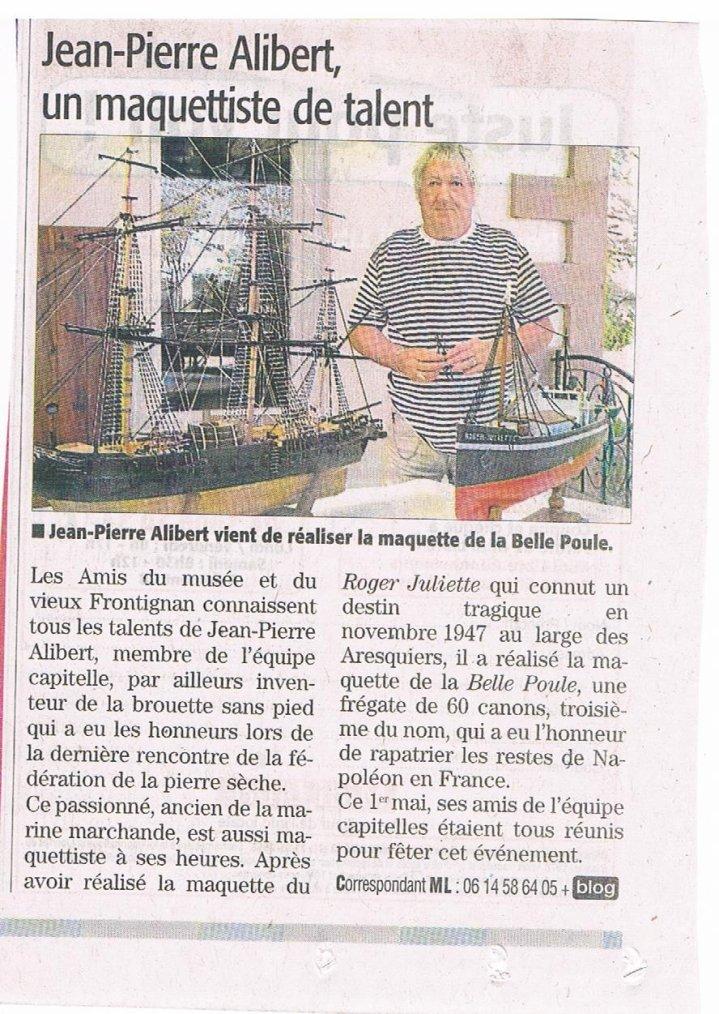 """Inauguration de """"la Belle Poule"""""""