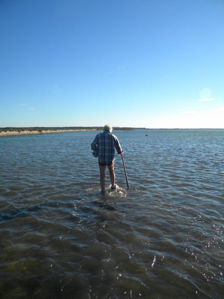 le Sage qui marchait sur l'eau .....