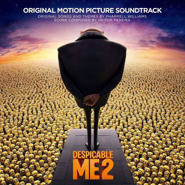 Despicable Me 2  / Pharrell - Happy (2013)