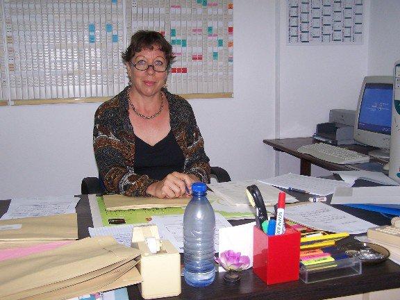 Christina chef de comptabilité