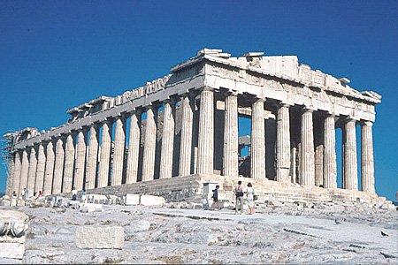 Le Parthénon et son architecture