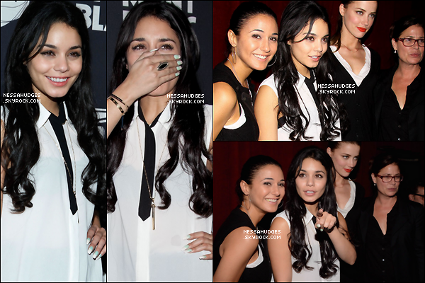 ".  12/11/12 : Vanessa s'est rendu à l'after Party de "" 24 Hour Plays on Broadway "".   ."