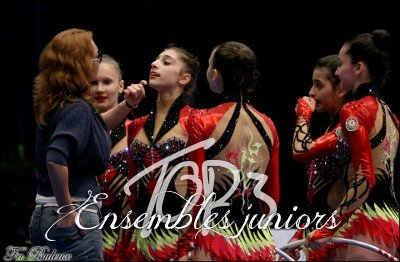 Top 3 des ensembles juniors 2013