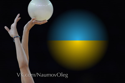 Kiev, jour 1, finales ballon-cerceaux.