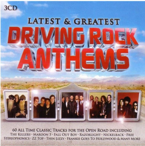 Greatest Driving Rock Anthems 2014