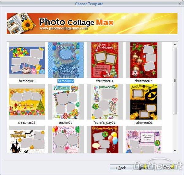 عملاق التعديل على الصور وعمل البوسترات Photo Collage Max 2.2.9.2 Final
