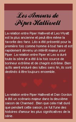 ____# article 115_______::_La vie sentimentale de Piper sur Piper-Halliwell4_::______Piper-Halliwell4 __ __|_création_|_décoration_|_newsletter_|_sommaire___|__ << amours toujours ? >>__:___Bonne Visite_m