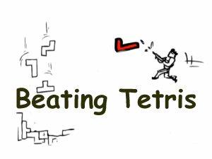 La vie est un Tetris. Faites un truc bien, ça disparaît aussitôt. Mais les erreurs, elles, elles s'accumulent. Au final tout le monde perd.