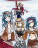 FanFiction n*1; Fairy Tail x One Piece. (Fairy Kaizoku, One Piece, l'âge d'Or de la Piraterie)