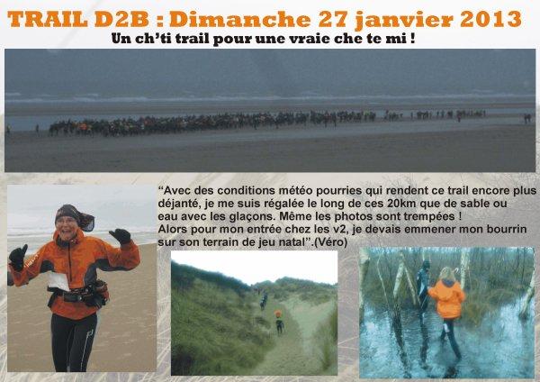 TRAIL DES 2 BAIES - Dimanche 27 janvier 2013