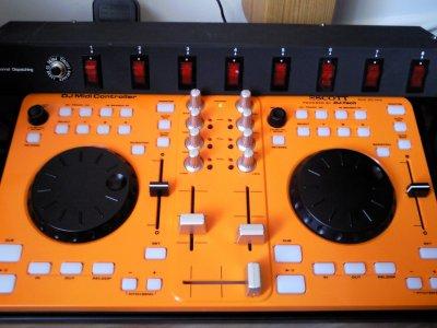 ma platine scoot djx 20 mix