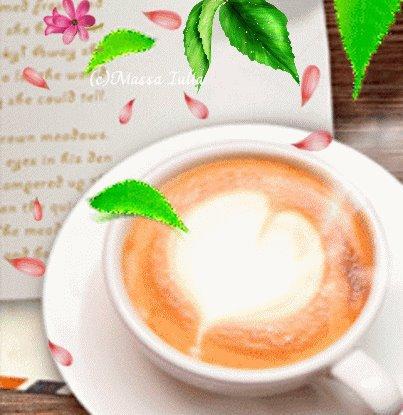 j'aimerais prendre mon café avec toi amour
