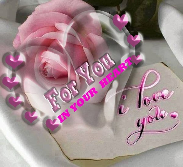 pour toi  mon amour je t'aime