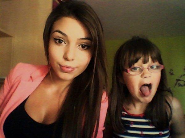 Dos hermanas ! Dos malos carácteres Ahah Te quiero ! <3