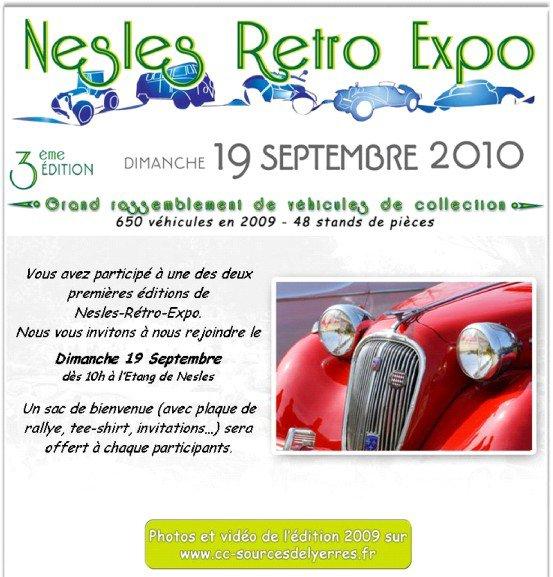 Un Dimanche encore trop fort !!!!!!!! Concentre autos de collection à Nesles