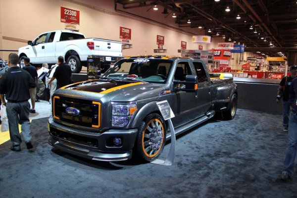 Best of SEMA 2010 - Truck Ford
