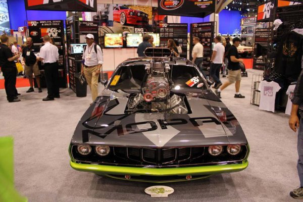 Best of SEMA 2010 - Mopar Dodge