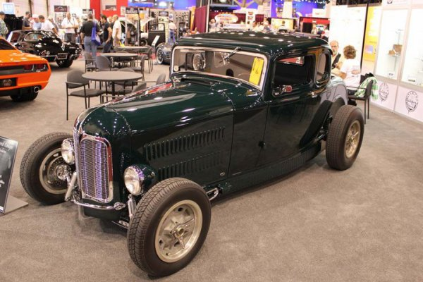 Best of SEMA 2010 - Deuce Top rod