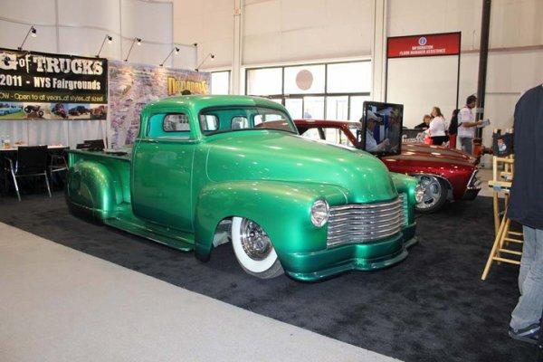Best of SEMA 2010 - slammed truck at Right Coast Association