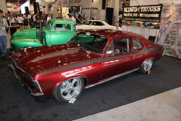 Best of SEMA 2010 - Lenny Schaeffer built Nova from Chop Shop Customs