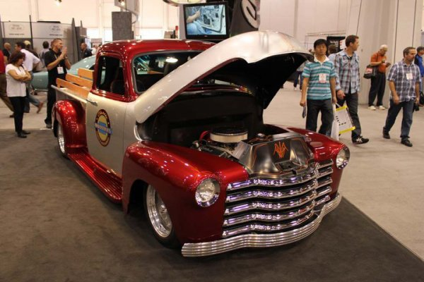 Best of SEMA 2010 - Truck Chevy