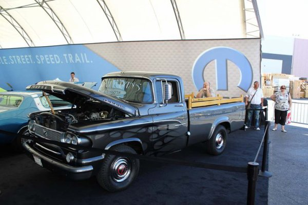 Best of SEMA 2010 - Larry White's 60 Dodge Truck in the Mopar Alley