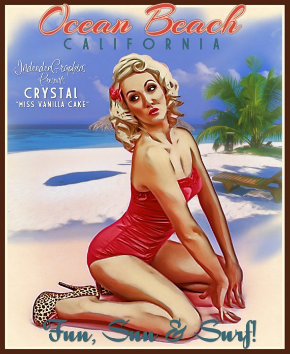 La Pin up Crystal VanillaCake