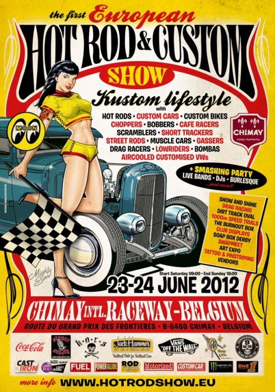 GONKY AU 1ER HOT ROD & CUSTOM SHOW A CHIMAY