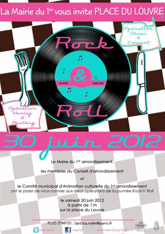 SORTIE STANGY ROCK'N ROLL PARIS