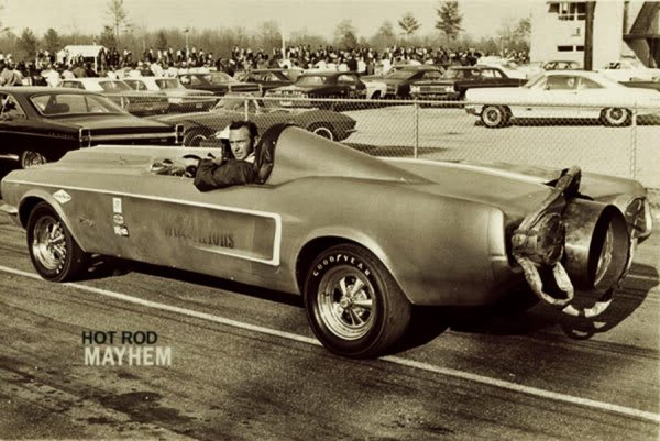 Mustang Dragster (archives Us)