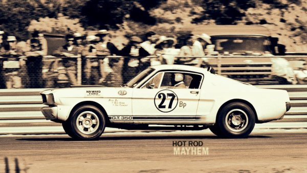 Mustang 1965 R-model Shelby.