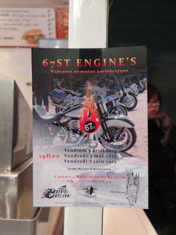1 ERE SORTIE DE l'ANNEE POUR STANGY  - 67'ST ENGINE'S TRILPORT (5 AVRIL 2013)
