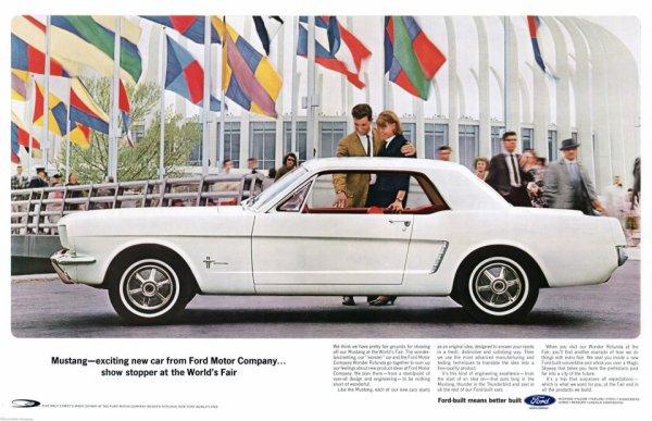 50 éme anniversaire Mustang !!!!!!!!!!!!!!!!!