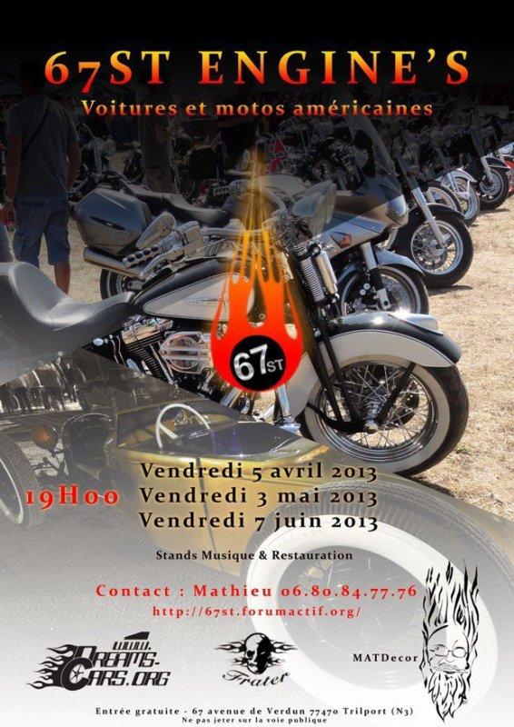 SORTIE STANGY - RDV 67ST ENGINE'S 7 - JUIN 2013