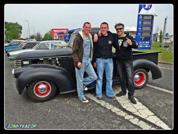 Sortie Gonky & les Potos en Chevy 46 - Le 19 Avril Tournai (Belgique)