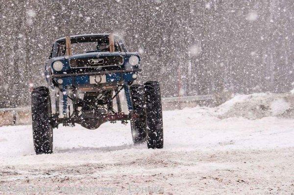 Une Mustang pour l'hiver