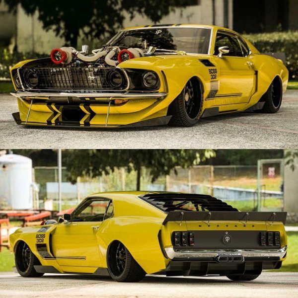 69 Ford Mustang Boss 302