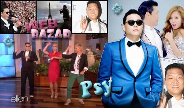 Psy (en coréen 싸이), de son vrai nom Park Jae-Sang (en coréen 박재상) né le 31 décembre 1977 en Corée du Sud, est un chanteur sud-coréen1