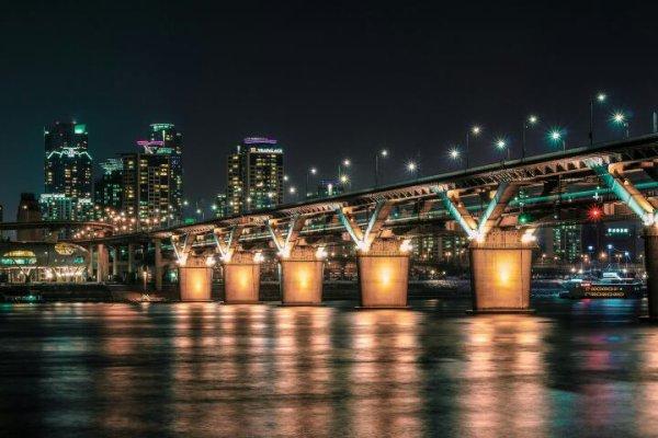 Cheongdam by night (Corée du Sud)