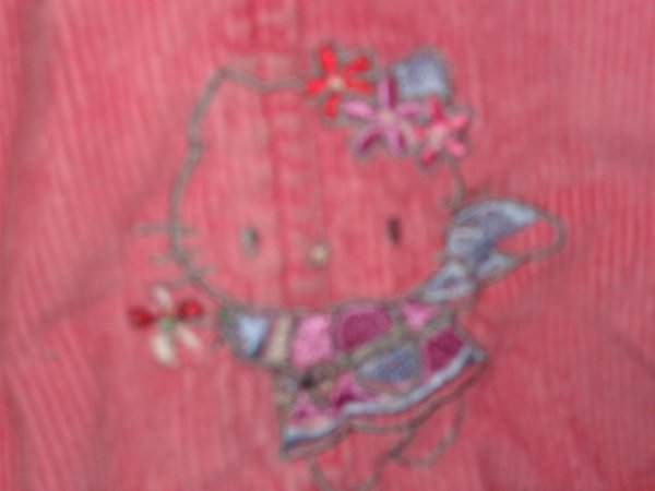 ROBE ROSE HELLO KITTY