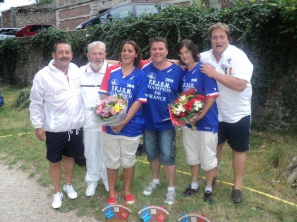 joutes final championnat de france melun 2010 (avec les 3 champions de france)