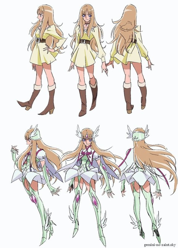 Saint Seiya Omega - Personnages