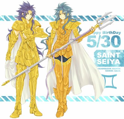 Happy Birthday Gemini no Saint